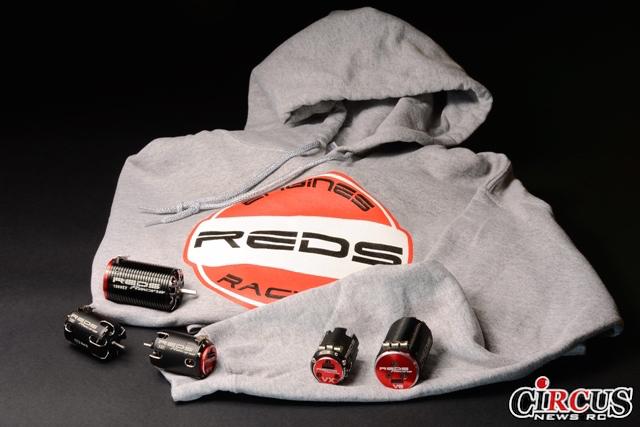 Nouveau sweat à capuche REDS Racing