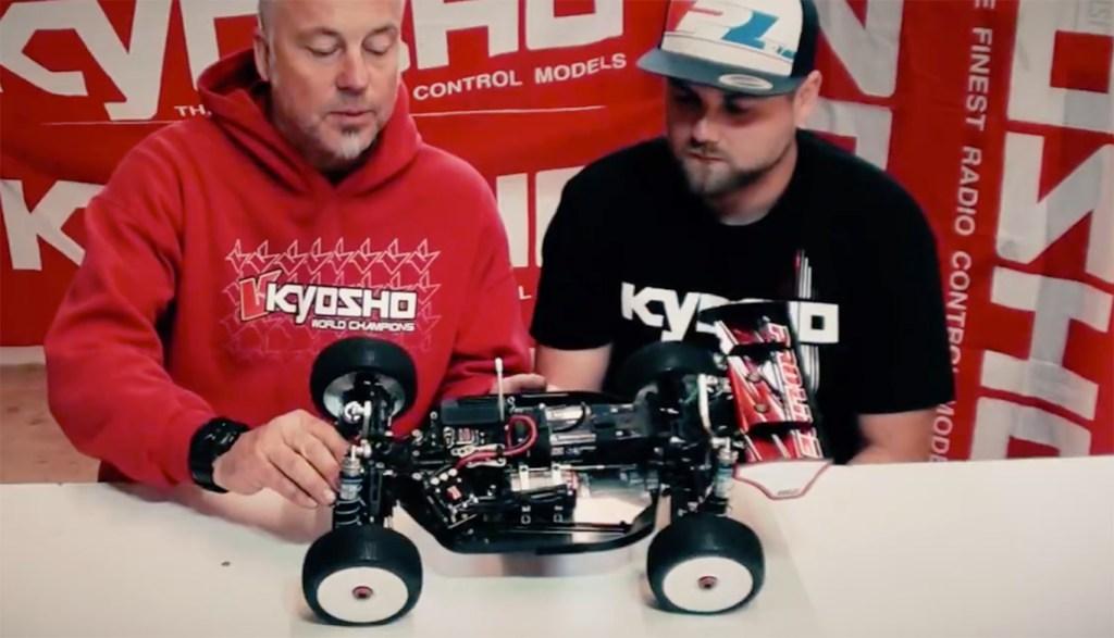 Nouveau E-buggy Kyosho en vidéo!