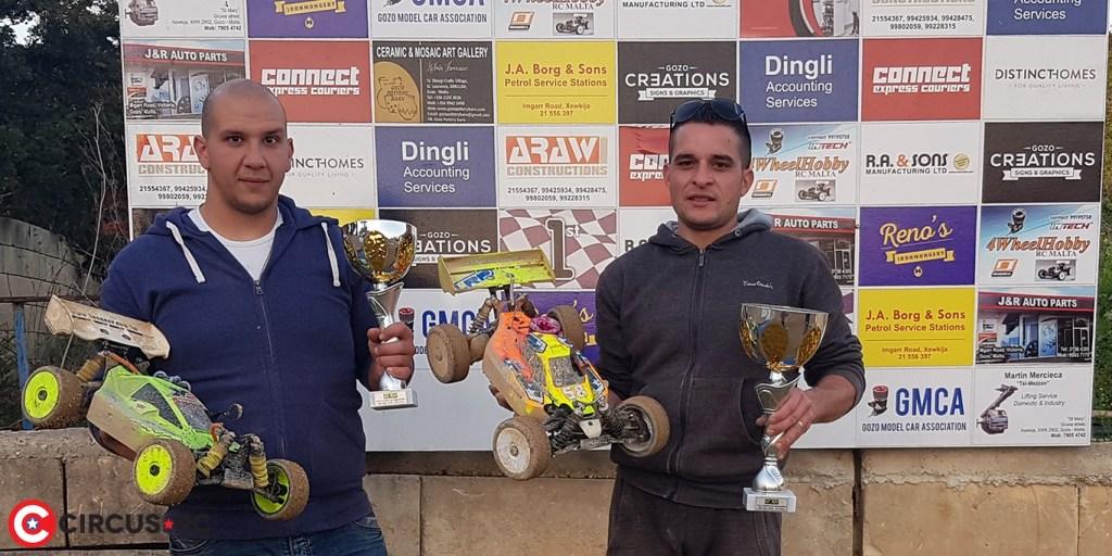 Farrugia & Le Prevost gagnent la 4ème manche du Championnat Gozo Model Car Association