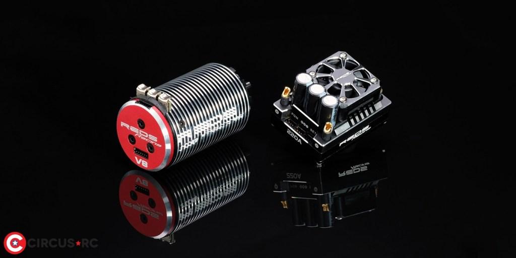 REDS Racing 2350 & 2800 Kv GEN 2 V8 Brushless motors