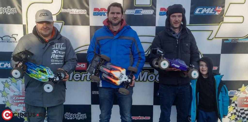 Clifford & Miller remportent la victoire à la 8ème manche des HNMC Winter Series