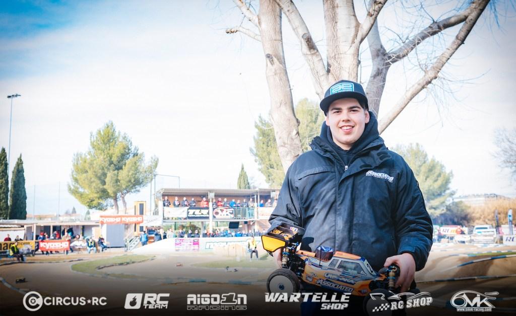 Davide Ongaro TQ's Montpellier GP Q1
