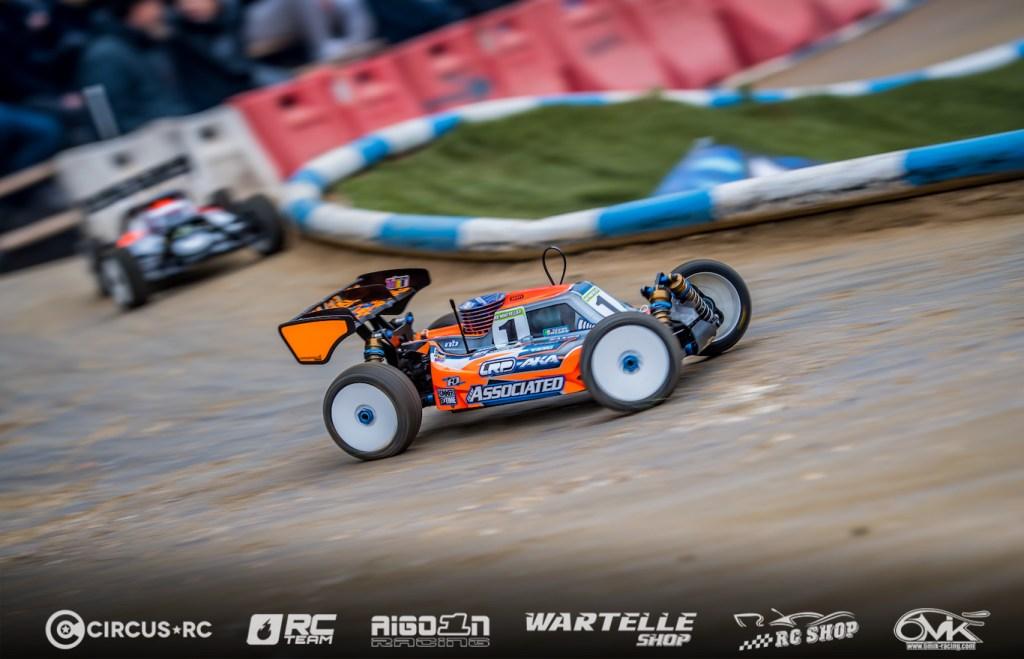 Davide Ongaro on pole at Montpellier GP