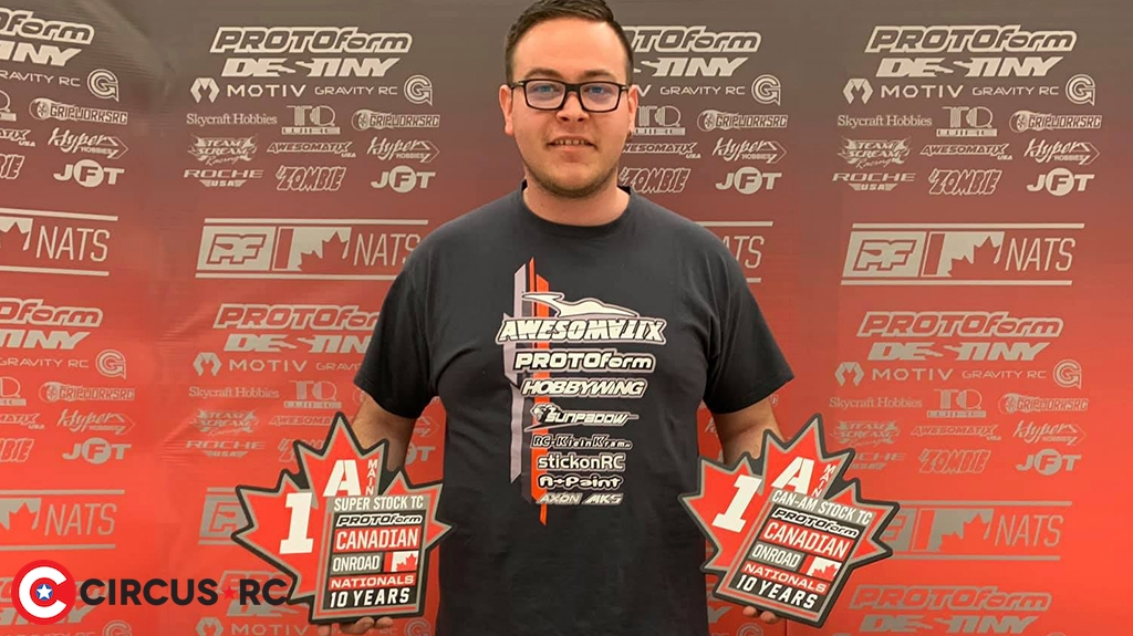 Max Mächler crowned double Canadian Stock Champion