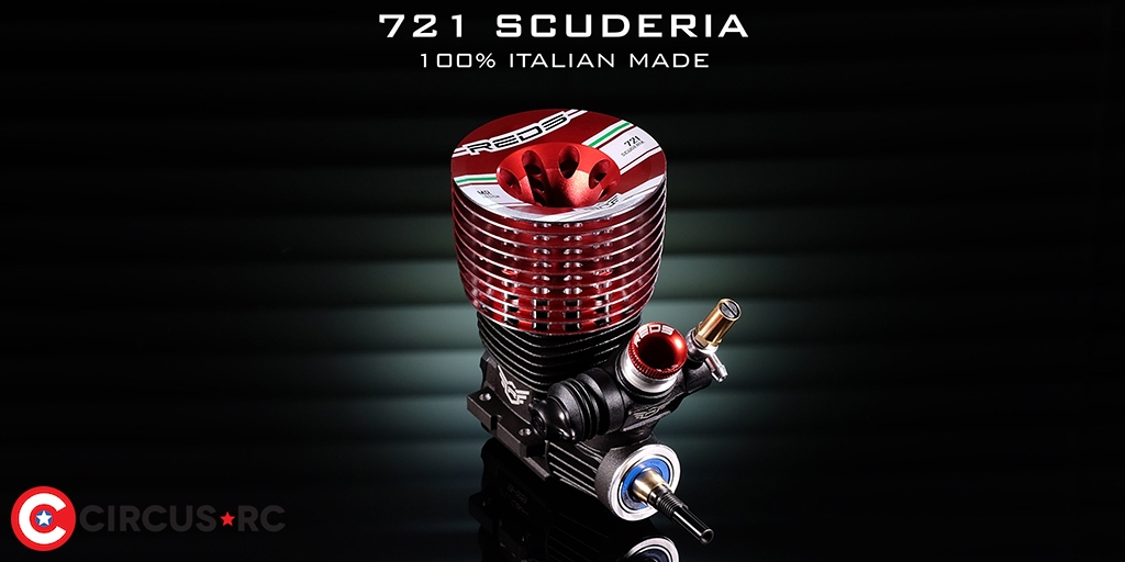REDS Racing 721 S Scuderia nitro engine coming soon