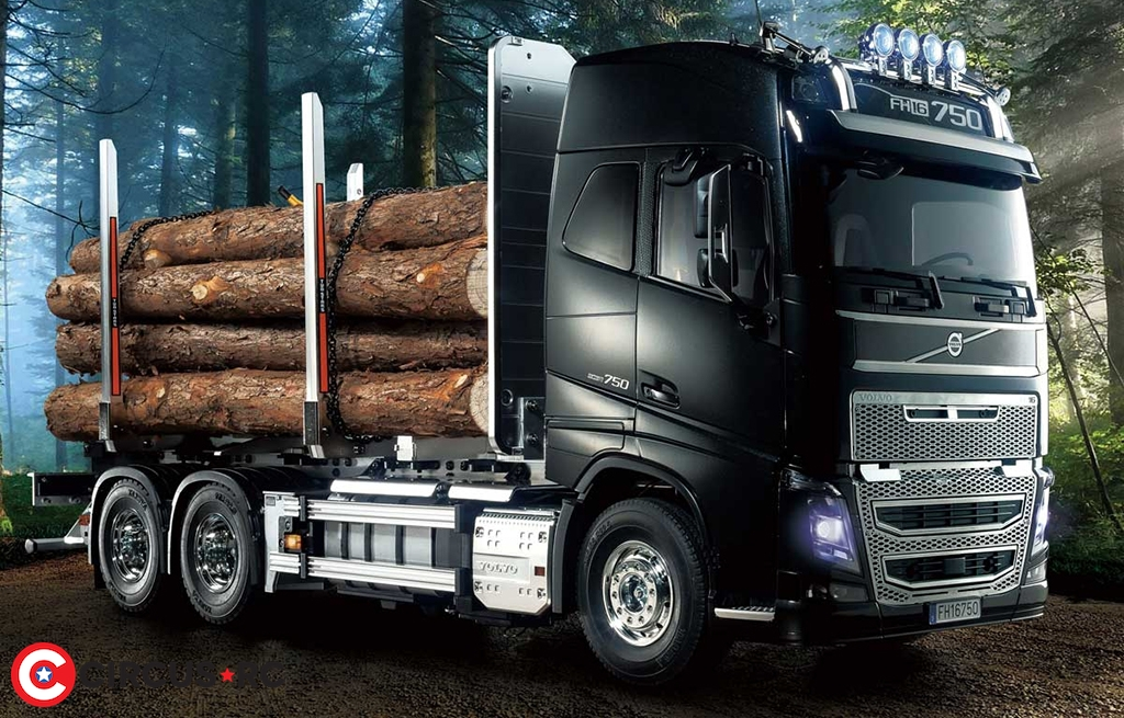 Tamiya Volvo FH16 Globetrotter 750 6x4 Timber truck ...