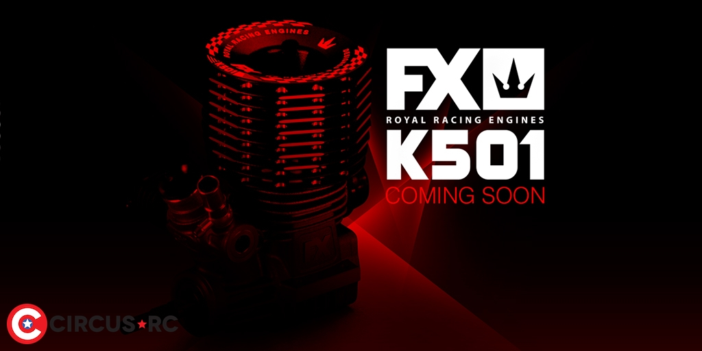 FX Engines l Moteur nitro K501 coming soon