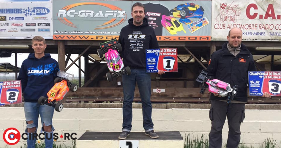 Jérôme Sartel wins at French E-buggy Champs Rd2