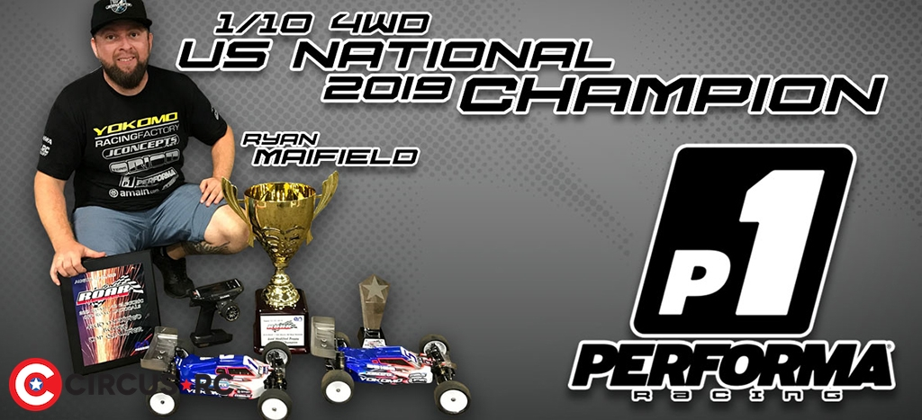 Ryan Maifield wins 2019 US Nats 4WD Buggy title