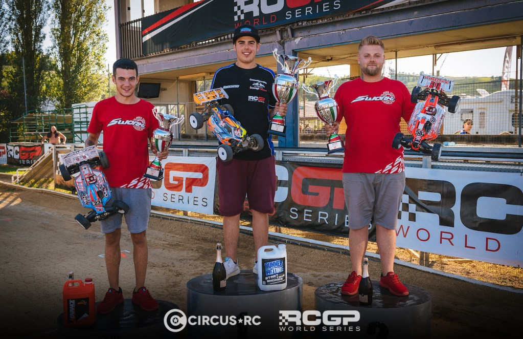 Davide Ongaro sweeps RCGP Rd5&6