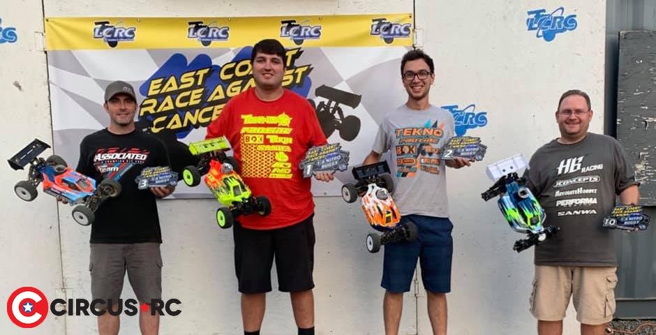 Joe Bornhorst doubles at East Coast Race Against Cancer
