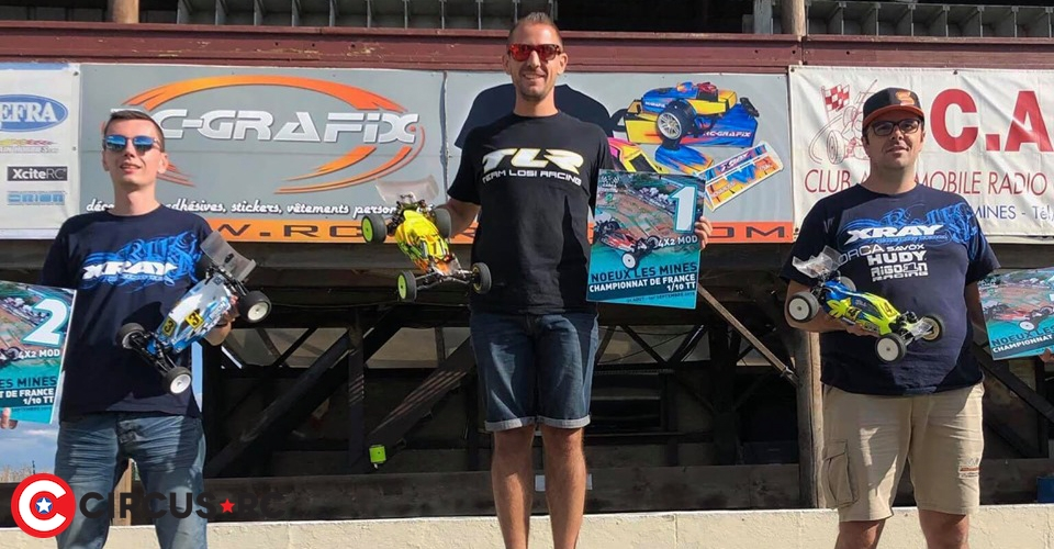 Clément Boda crowned French 2WD Buggy Champion