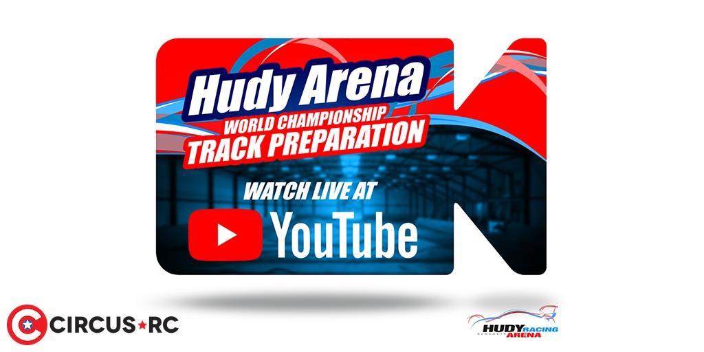 HUDY Arena live stream: 2019 World track preparation