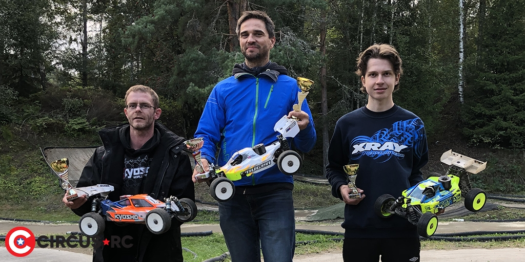Rune Karlsen sweeps Norwegian 1/8 Offroad Fuel Cup finale