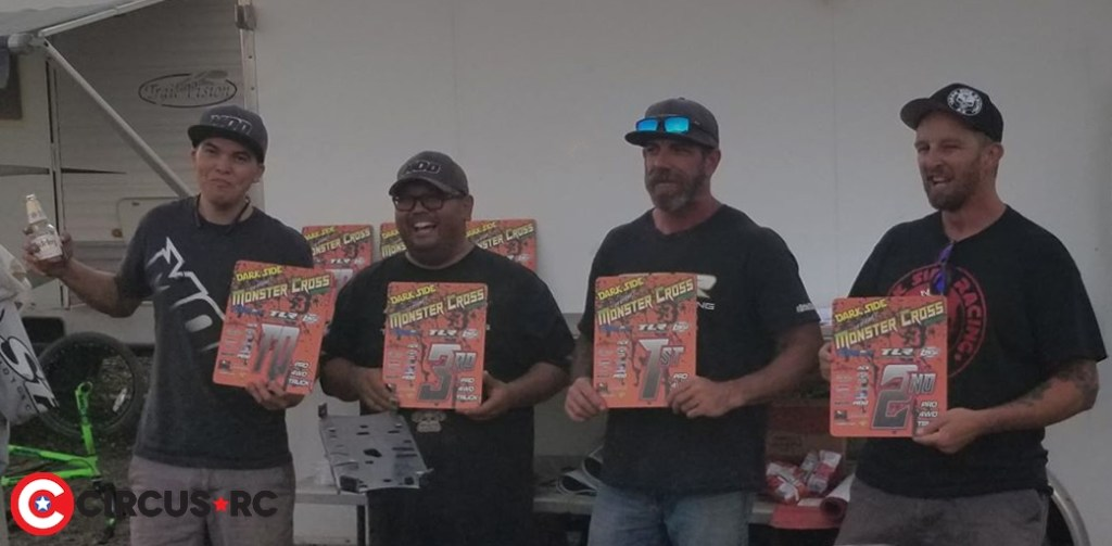 Ray Reves wins at 5th scale Monster Cross 2019