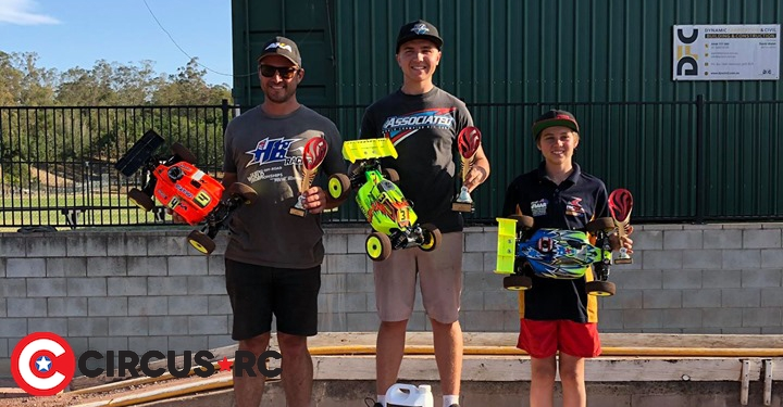 Bernadzik & Beale win at RCRA ManUp & 1/8 off-road Queensland State Titles
