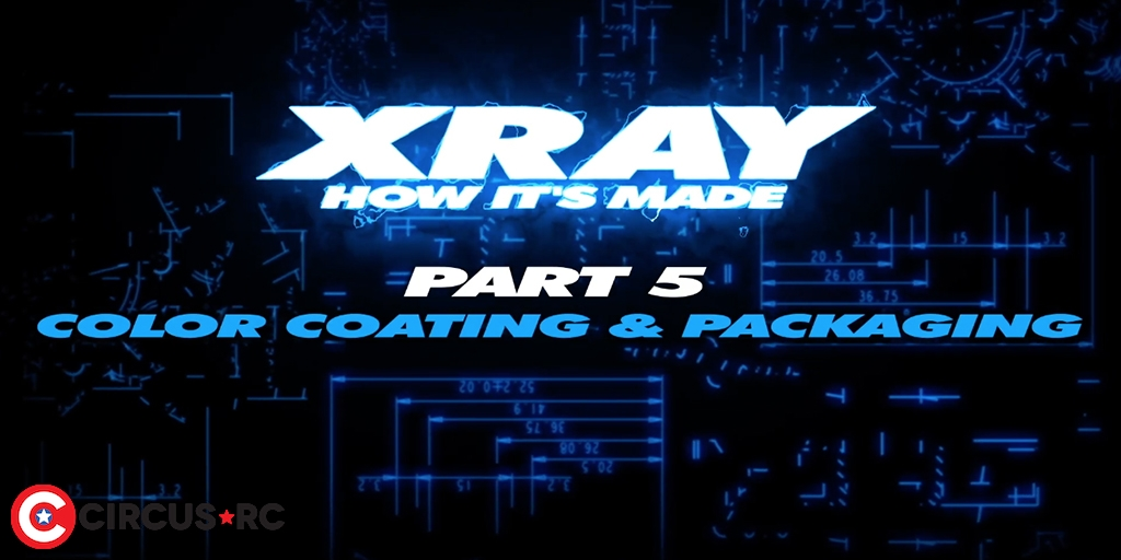 XRAY video part 5: color coating & packaging