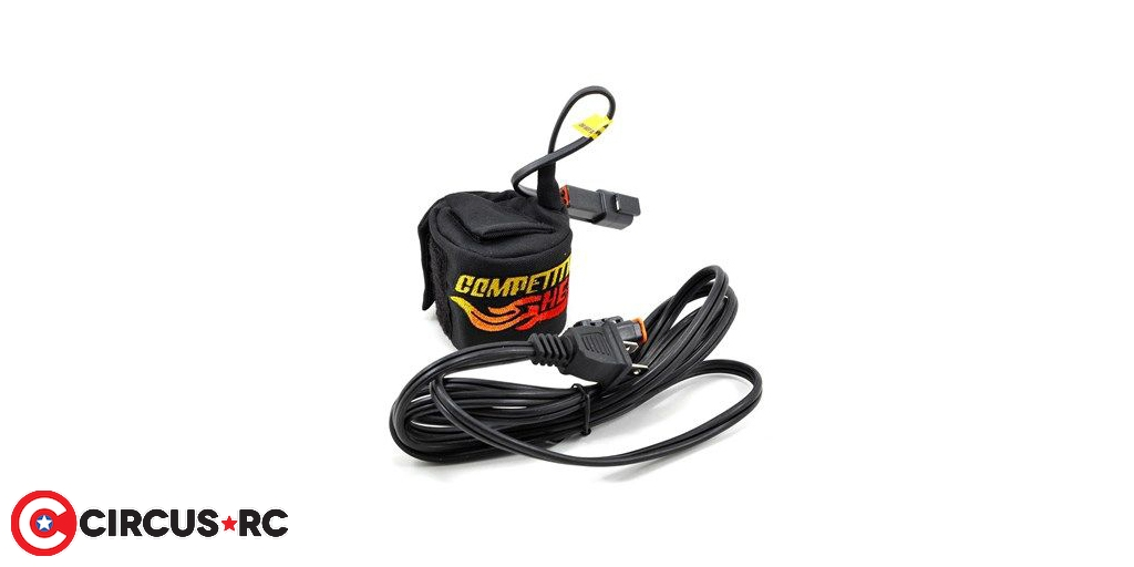 Competition Heat Deuce AC engine heater back in stock at Absolute Hobbyz
