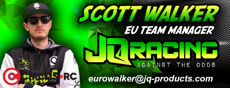 Scott Walker appointed JQ Racing Europe Team Manager