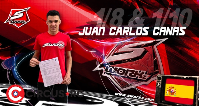 Juan Carlos Canas inks SWORKz long-term contract