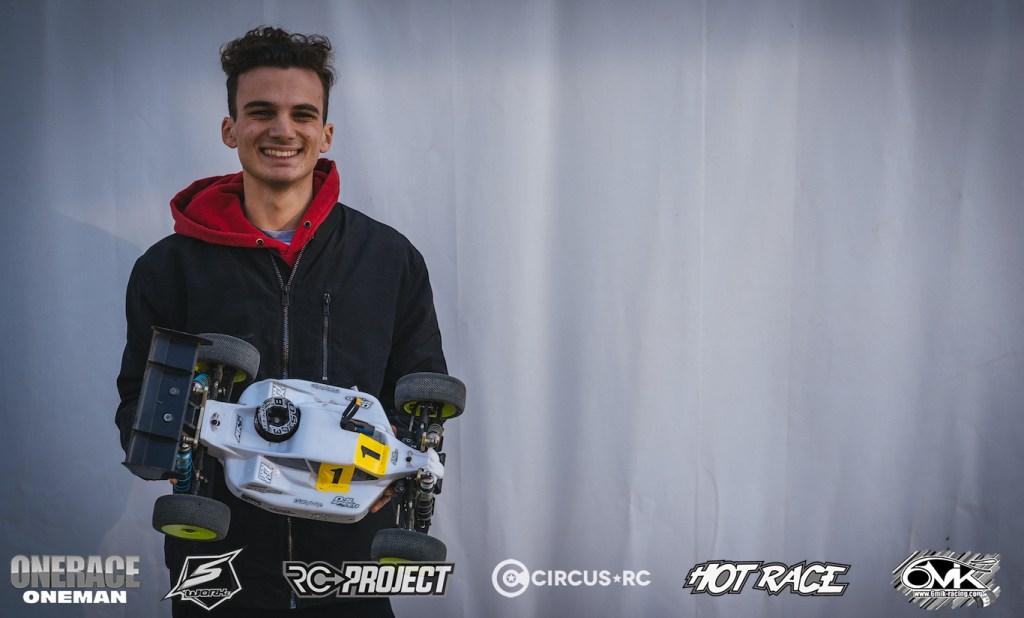 2020 One Race One Man: Riccardo Berton takes TQ in Q1