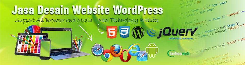 Jasa Desain Website WordPress