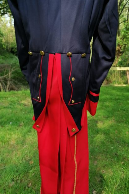 Former Military Suit, theatrical epaulettes, back suit 1