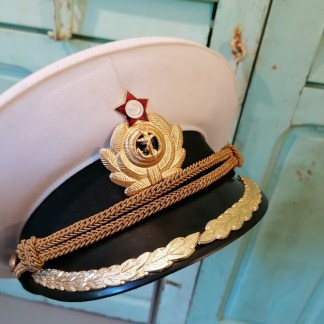 Russian Navy Officer Cap, U.HAT10.01, front 2