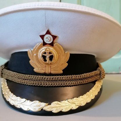 Russian Navy Officer Cap, U.HAT10.01, front1
