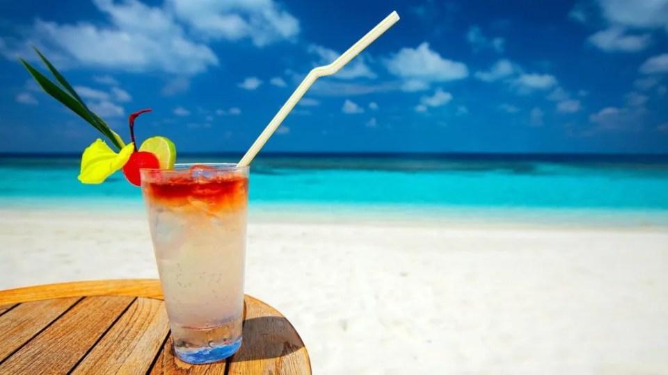 summer is a beach