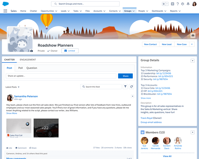 Salesforce Winter '18: New Look and Feel