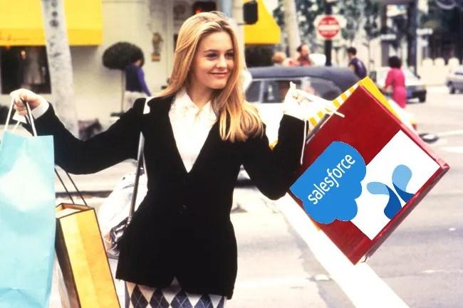 Salesforce buys CloudCraze