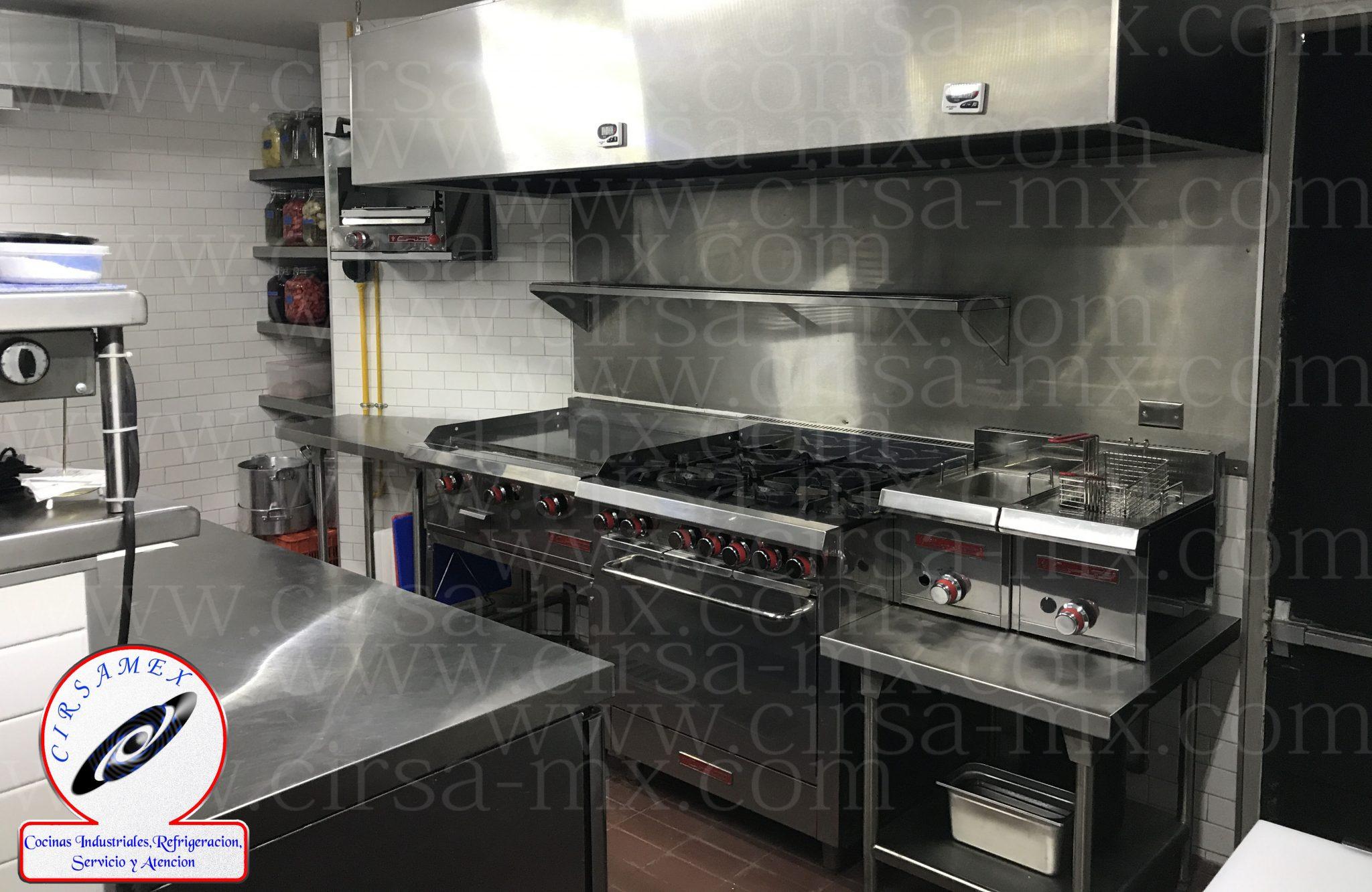 CIRSAMEX SA DE CV  cocinas industriales en Acero inoxidable