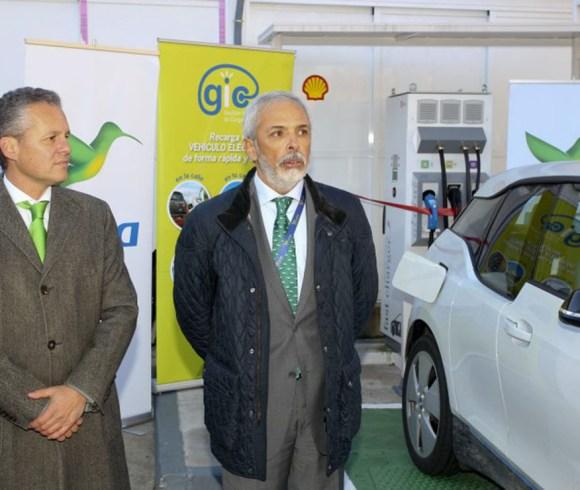 Gic presenta su primer punto de recarga rápida para vehículos eléctricos en madrid