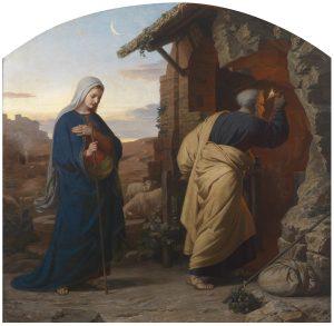 Am Abend vor Christi Geburt. Michael Riser.