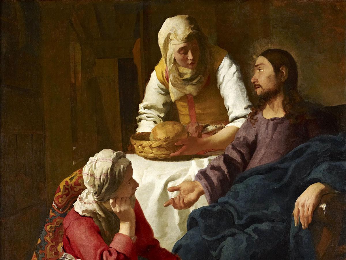 Иисус, Мария и Марфа