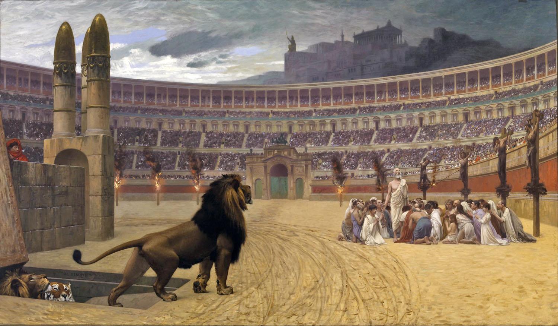 Léon Gérôme - The Christian Martyrs' Last Prayer