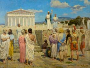 Павел в Афинах