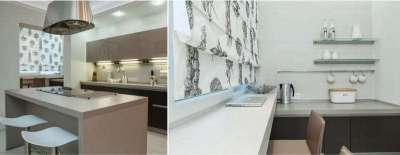 кухня на лоджии дизайн фото 7