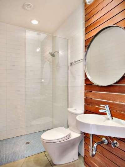 дизайн маленькой ванны совмещенной с туалетом 6