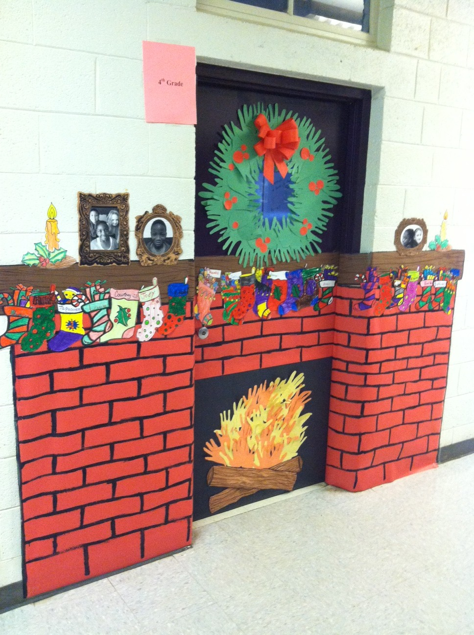 decorated door contest at st century community learning center