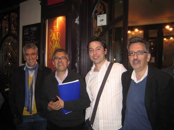 De izquierda a derecha: Luis Castro, Miguel Ángel Castro, Rubén Crespo y Laureano Castro | Foto. RC