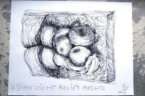 Schets Maria van Pallaes