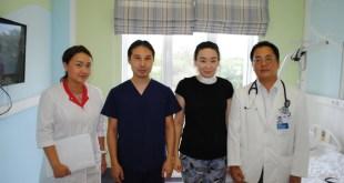 강남세브란스병원, 카자흐스탄 원내원 진출 첫 수술