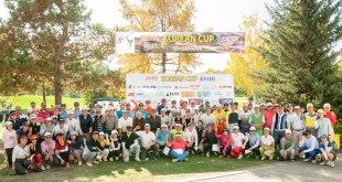 제16회 코리안컵 골프대회에 골프 동호인들 참가해 기량 펼쳐