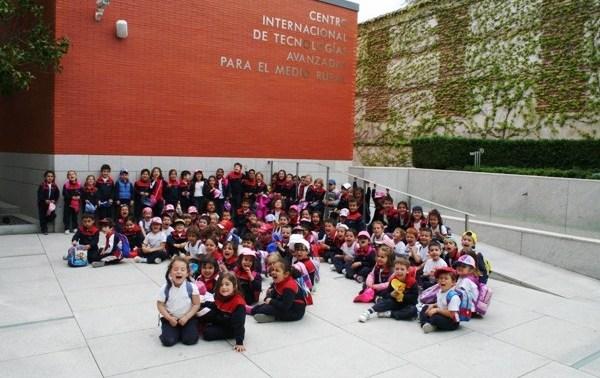 Visita del Colegio de las Esclavas del Sagrado Corazón