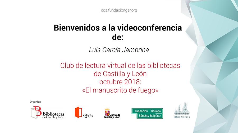 video conferencia Luis García Jambrina