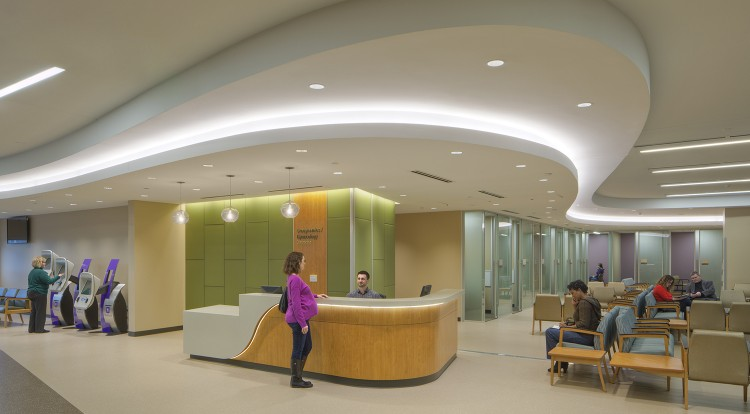 Parkland Hospital WISH Clinic Interior Finish Out And Outpatient Clinic Citadel National
