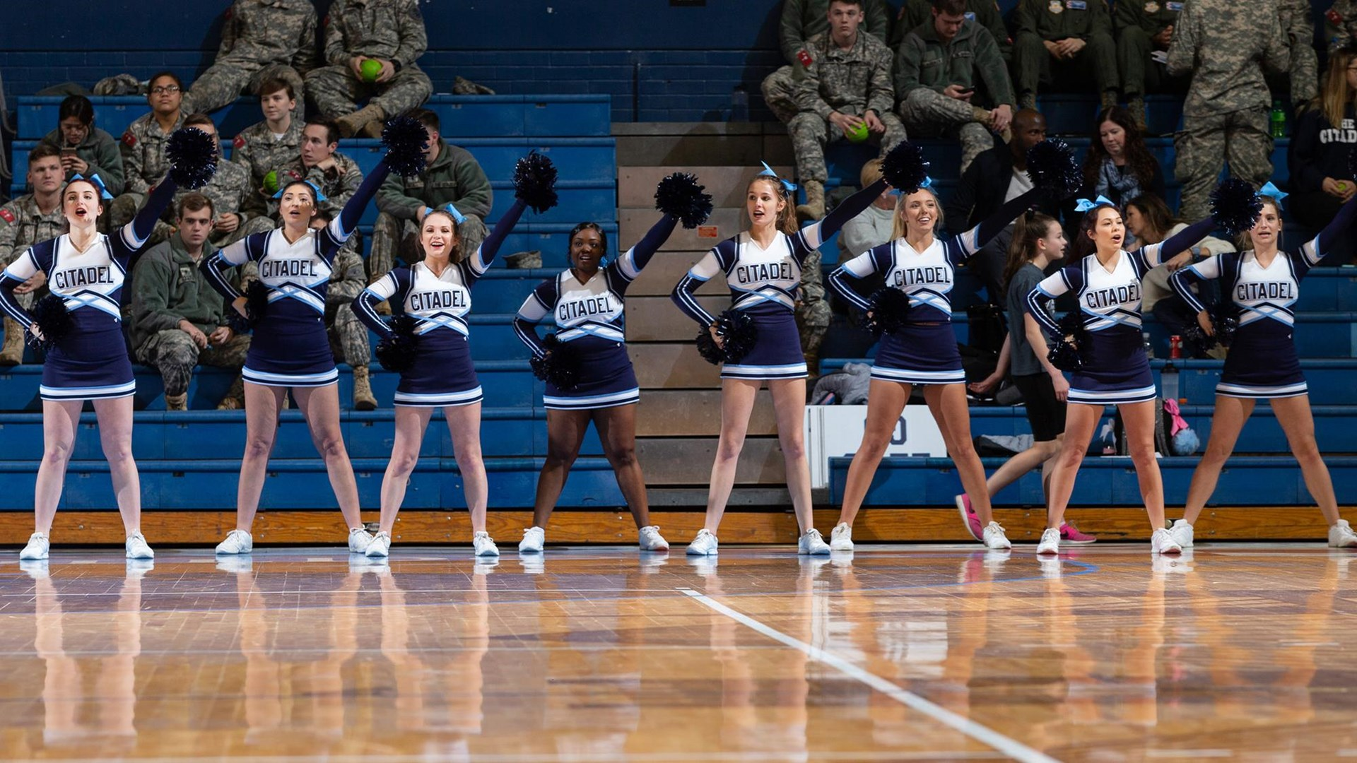 hight resolution of citadel athletics hosting tryouts for cheerleading and spike t bulldog