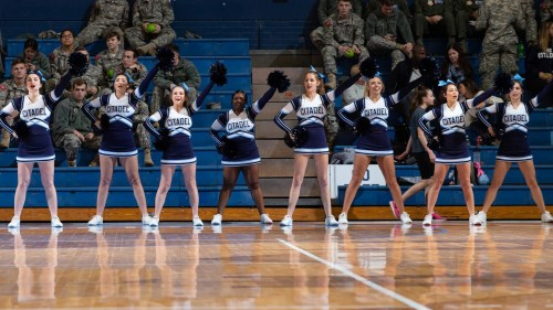 small resolution of citadel athletics hosting tryouts for cheerleading and spike t bulldog